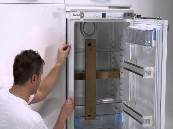 Регулировка холодильника по уровню