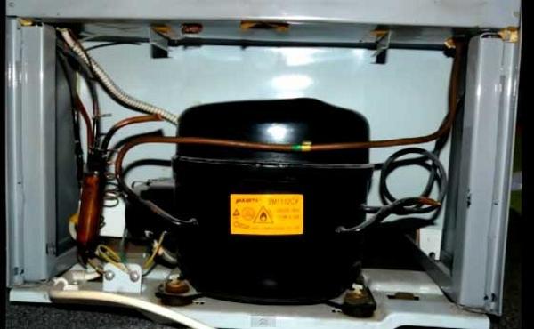 Однокомпрессорный холодильник