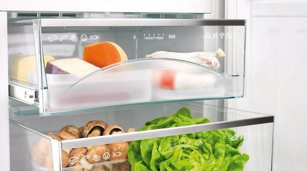 Выдвижные ящики в холодильнике