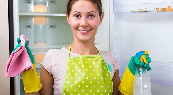Подготовка к мытью холодильника
