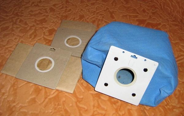 Самодельный мешок для пылесоса