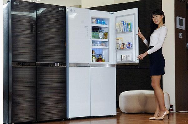 Холодильник LG Dios