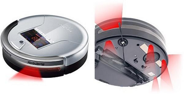ИК датчики в роботе пылесосе