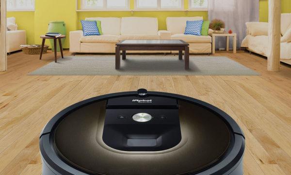 Пылесос IROBOT Roomba 980 в квартире