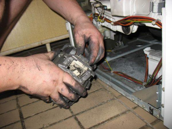 Замена мотора в стиральной машине