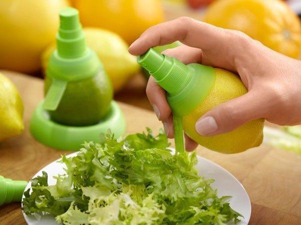 Специальные насадки-спреи для лимонов и апельсинов