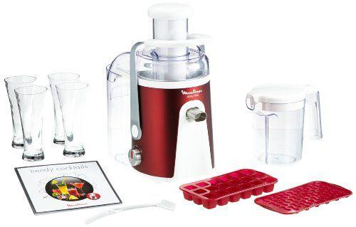 Moulinex JU 585 D Easy Fruit Red