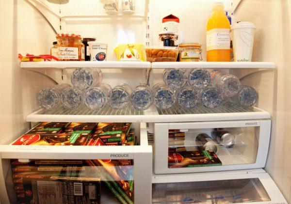 Шоколад в холодильнике