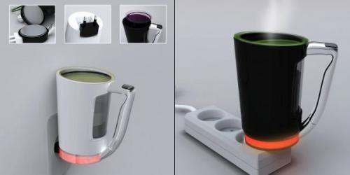 Дорожная кружка-кофеварка