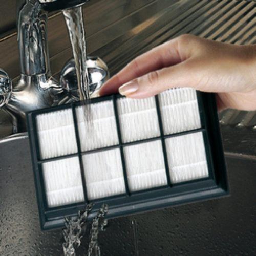 Мытье фильтра HEPA