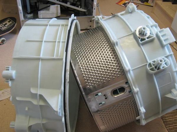 Демонтаж барабана