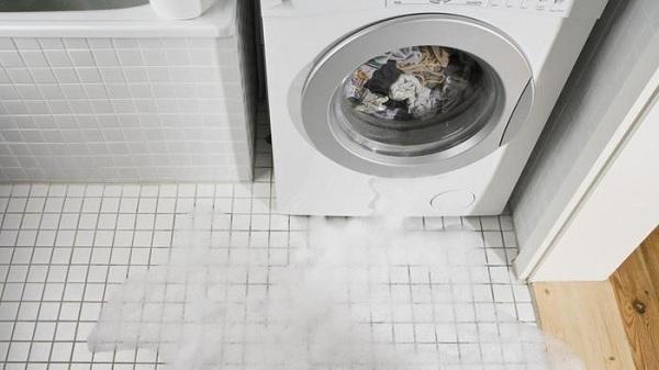 Вода в стиральной машине