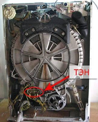 ТЭН стиральной машины