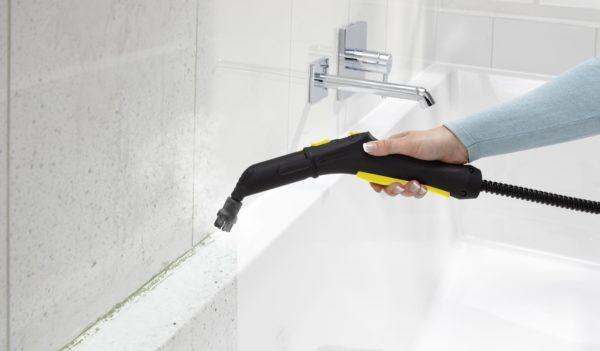 Чистка ванной комнаты