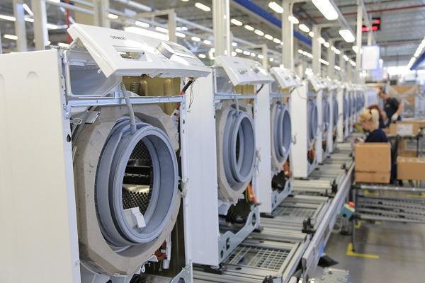 Завод по изготовлению стиральных машин