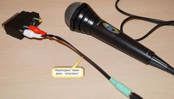 Микрофон и провода