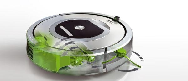 Автоматизированный кухонный робот-пылесос