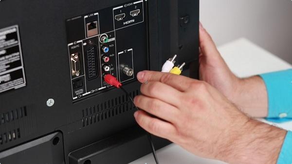 Подсоединение кабелей