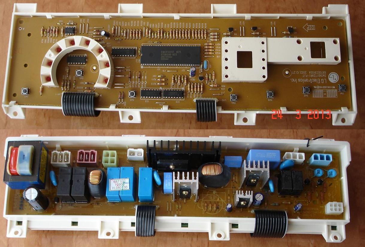 Ремонт электронного модуля на стиральную машину 35