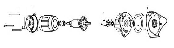 Устройство мотора соковыжималки