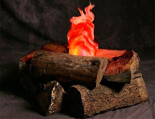 Подсветка пламени