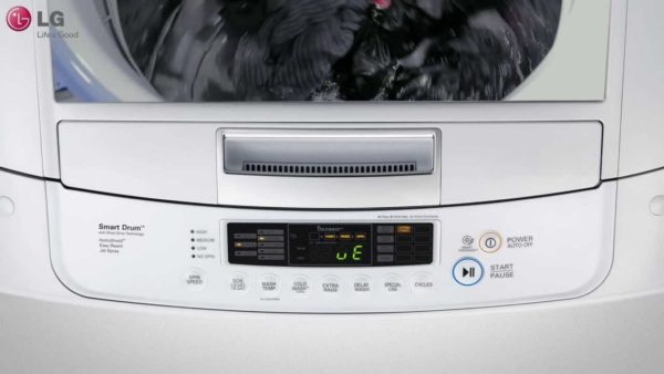 Дисплей стиральной машины LG