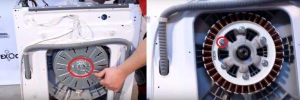 Снятие инверторного двигателя