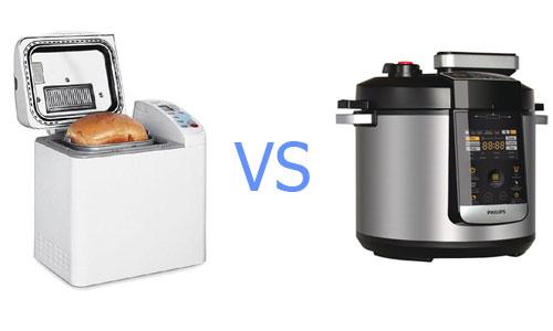 Что лучше: хлебопечь или мультиварка