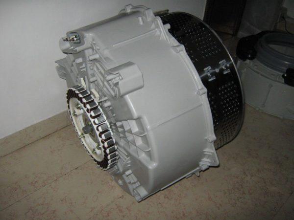 Бак стиральной машины LG