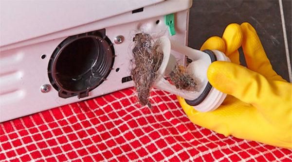 Барабанный фильтр из стиральной машины