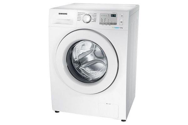 Белая стиральная машина