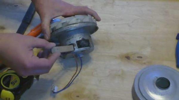 Брусочки для зажатия ротора