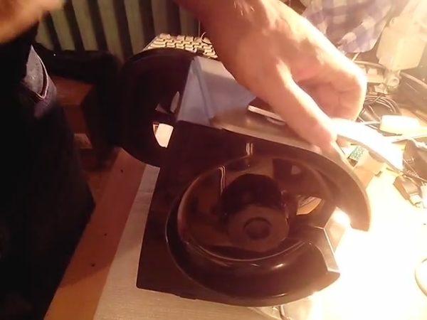 Снятие проводного диска с вала двигателя