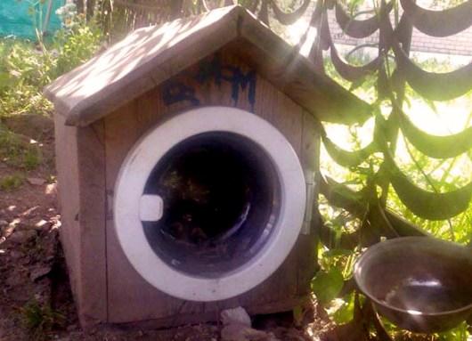 Дверца будки для собаки