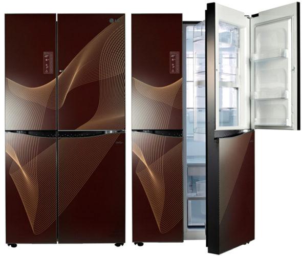 LG Side by Side с дизайном класса люкс