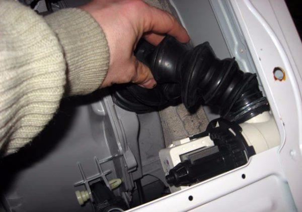Сливной патрубок стиральной машина