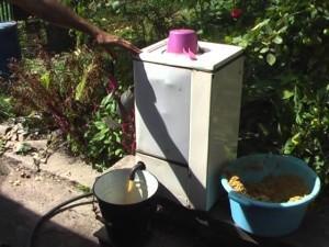 Соковыжималка для яблок из стиральной машины