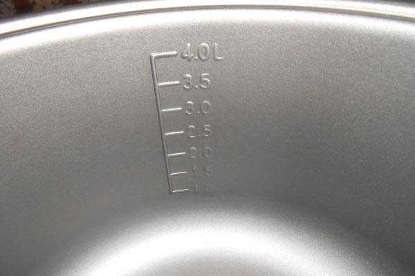 4-литровый объем чаши