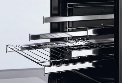 Телескопические направляющие в духовке