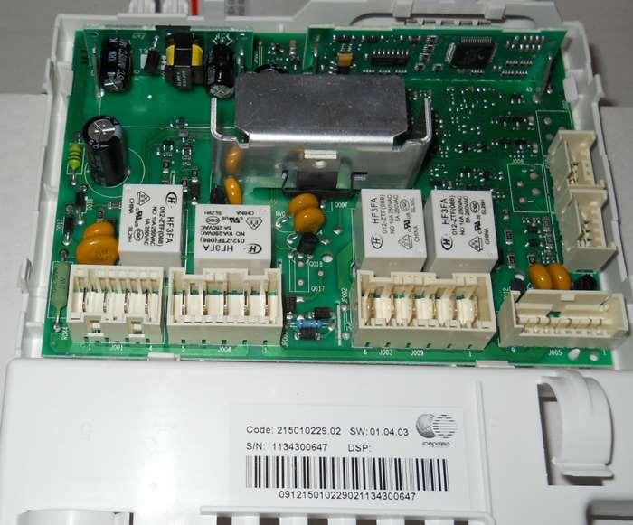 Ремонт электронного модуля на стиральную машину 11