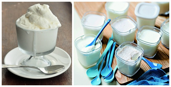 Йогурт и мороженное