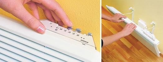 Ручная регулировка термостата