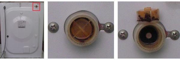 Заливной клапан в стиральной машине