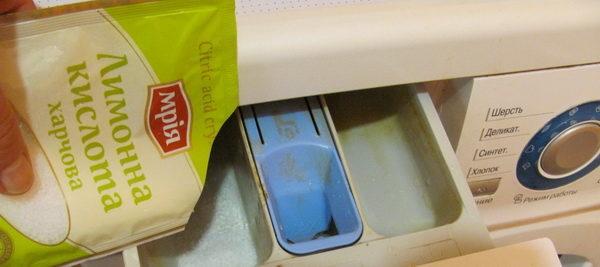Удаление накипи с помощью лимонной кислоты