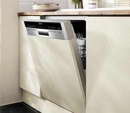 Посудомоечная машина с открытой панелью