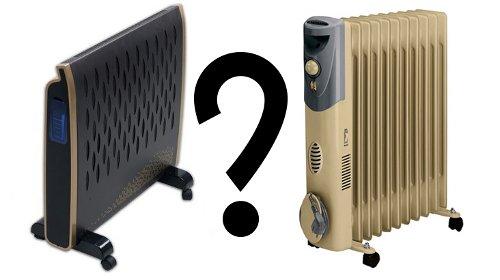 Конвектор или радиатор