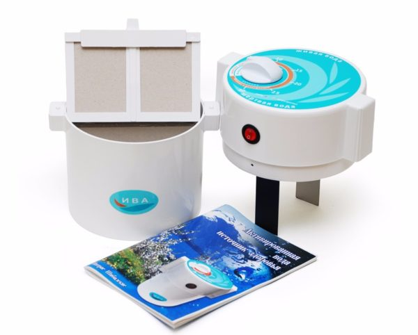Электрический ионизатор для очистки воды