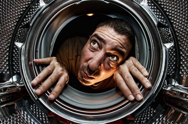 Заводской брак барабана стиральной машины