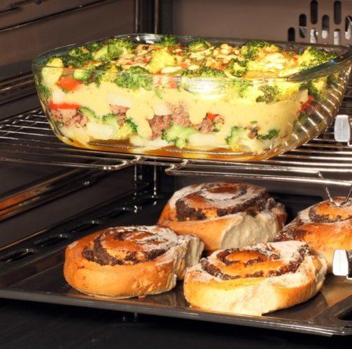 Блюда в стеклянной огнеупорной посуде