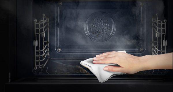 Гидролизная очистка духовки Samsung